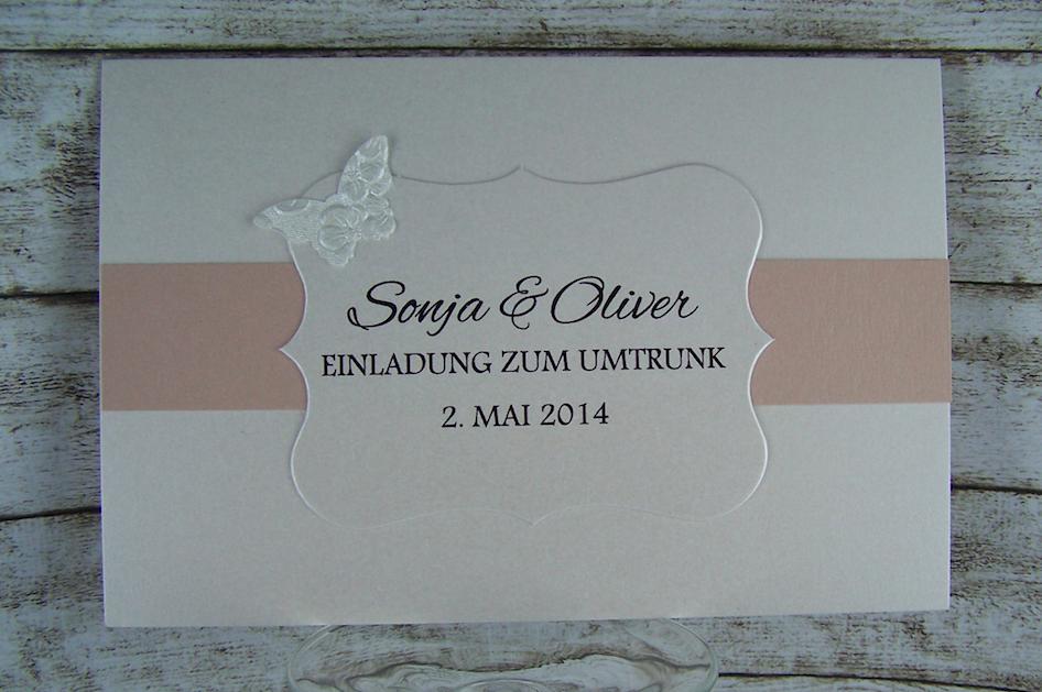 Einladung Umtrunk Hochzeit Www.kartenmanufaktur Arndt.de