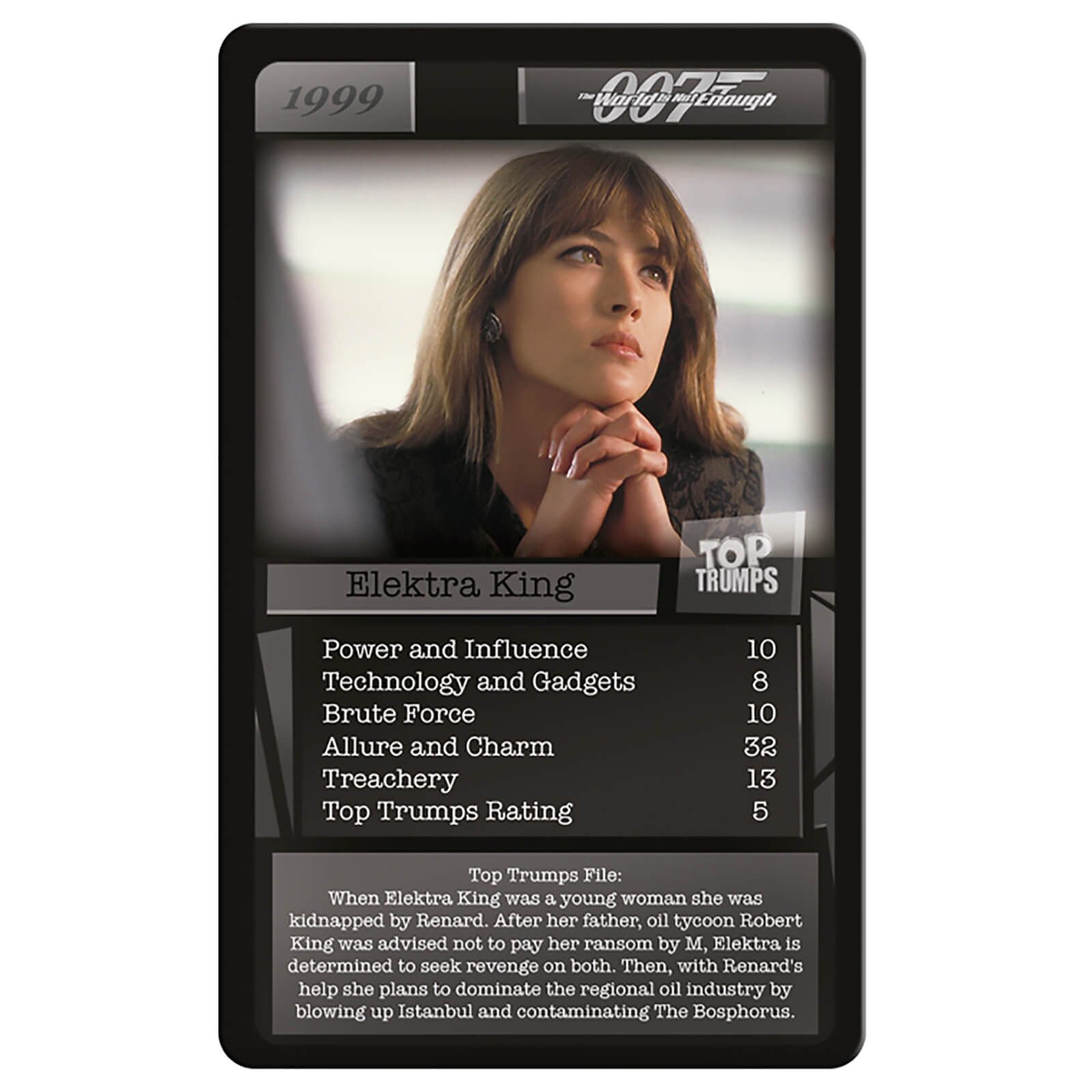 007 James Bond Edition Card Game Top Trumps