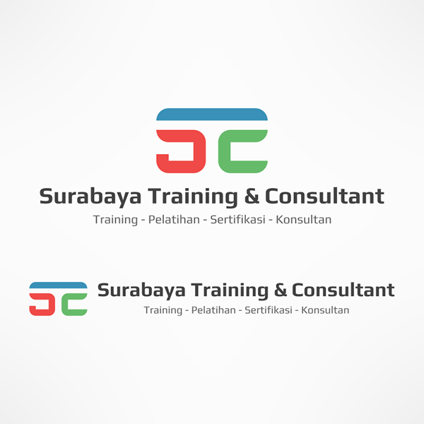 Check On My Behance Stc Logo Design Surabaya Training Consultant Created With Inkscape Logo Design Portfolio Logo Logos