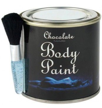 Erotic Chocolate Body Paint
