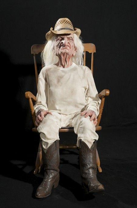 Grandpa Crotchety Rocking Animated Halloween Props Baby Girl Halloween Costumes Halloween Props