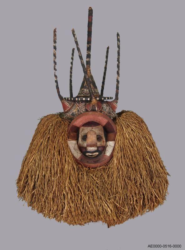 Yaka initiation mask. before 1920. D.R.Congo