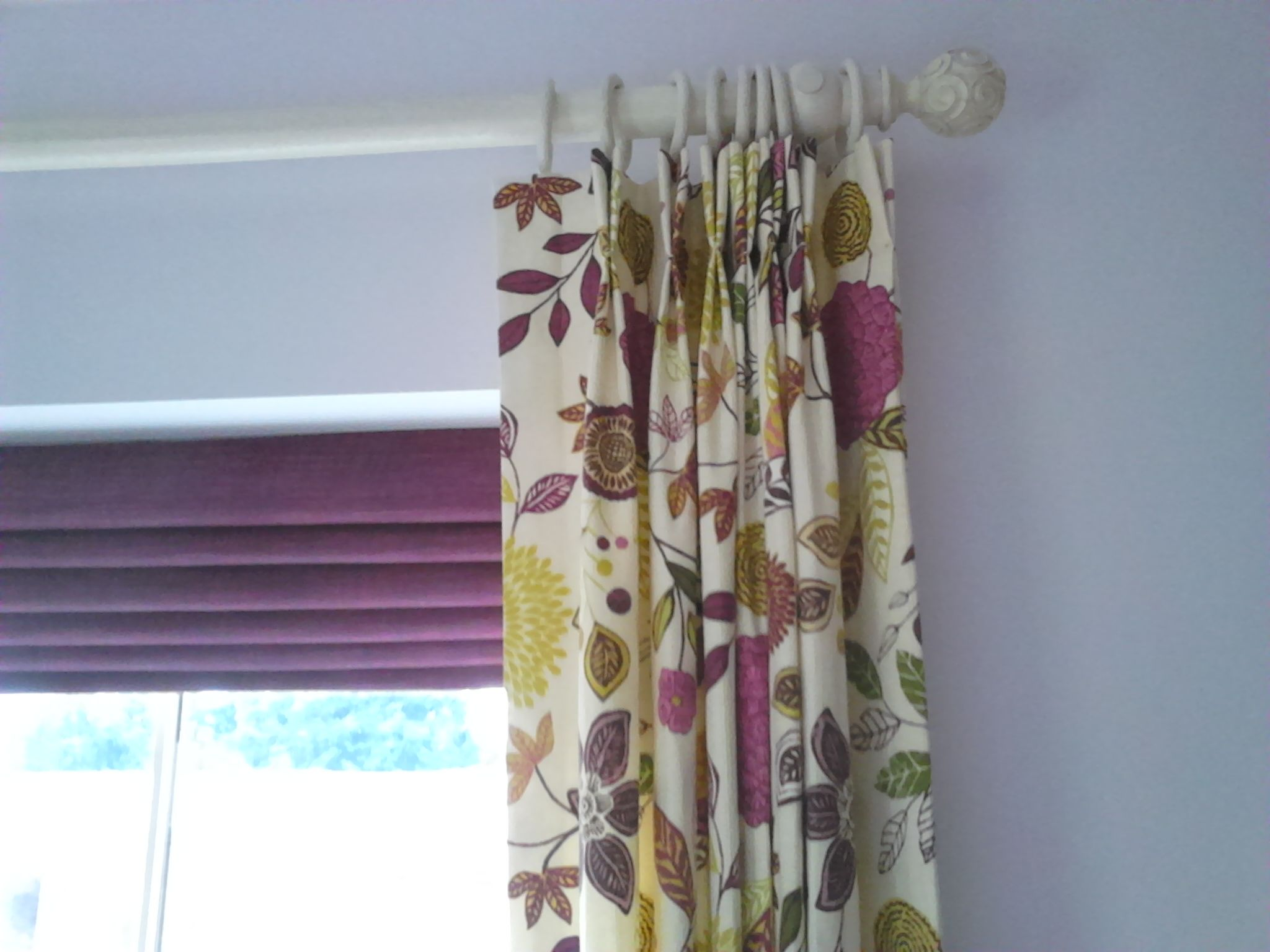 Co-ordination from Harlequin.  Pole from Price & Co.