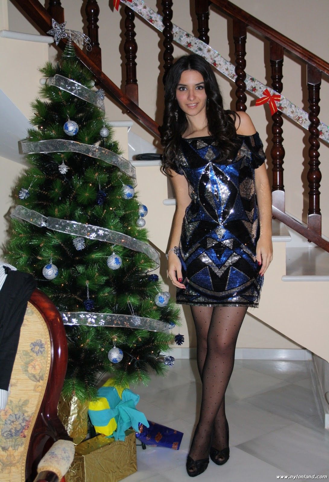 Christmas pantyhose pictures