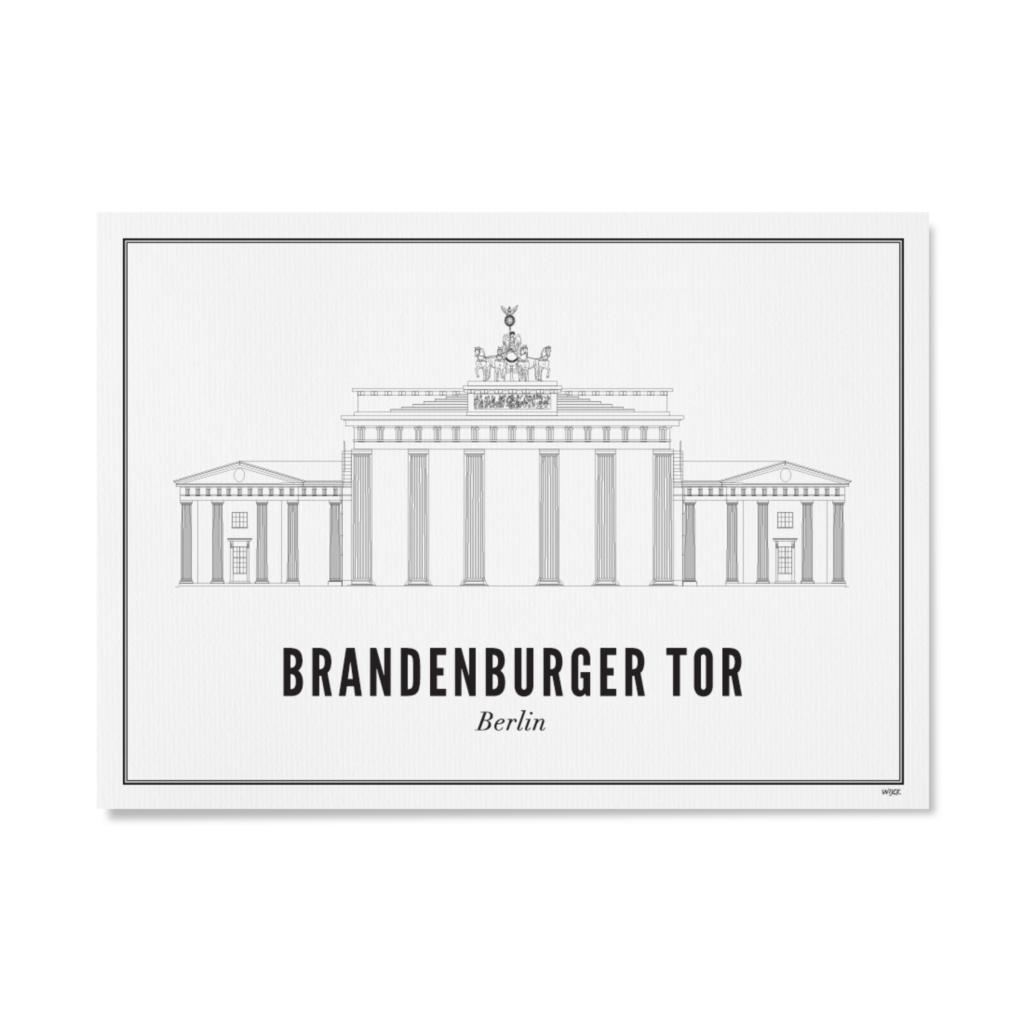 Berlin Brandenburger Tor Wijck In 2020 Berlin Unique Print Picture Wall