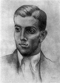 Portrait of Léonide Massine - Pablo Picasso