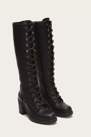 Lace-Up Boots for Women - Women's Combat Boots | FRYE