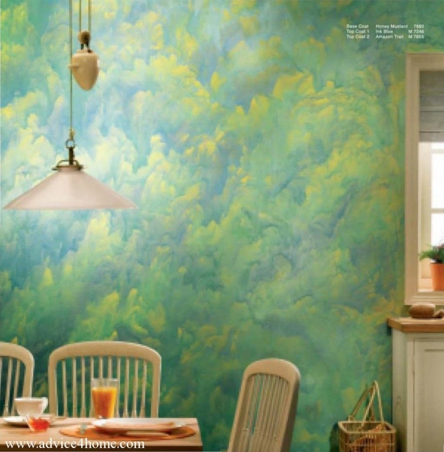 Awesome asian paints wall designs for small dining room for Dining room wall paint designs
