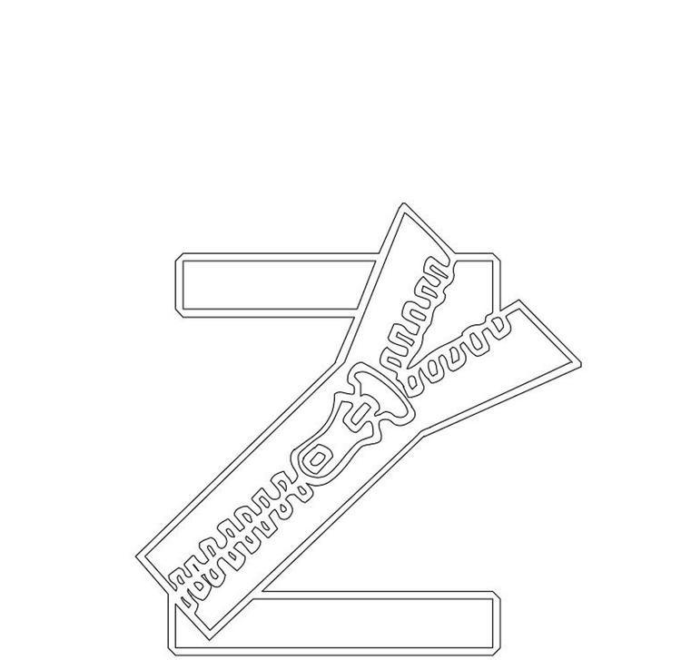 Free Zipper Alphabet Coloring Pages Alphabet Coloring Alphabet Coloring Pages Coloring Pages