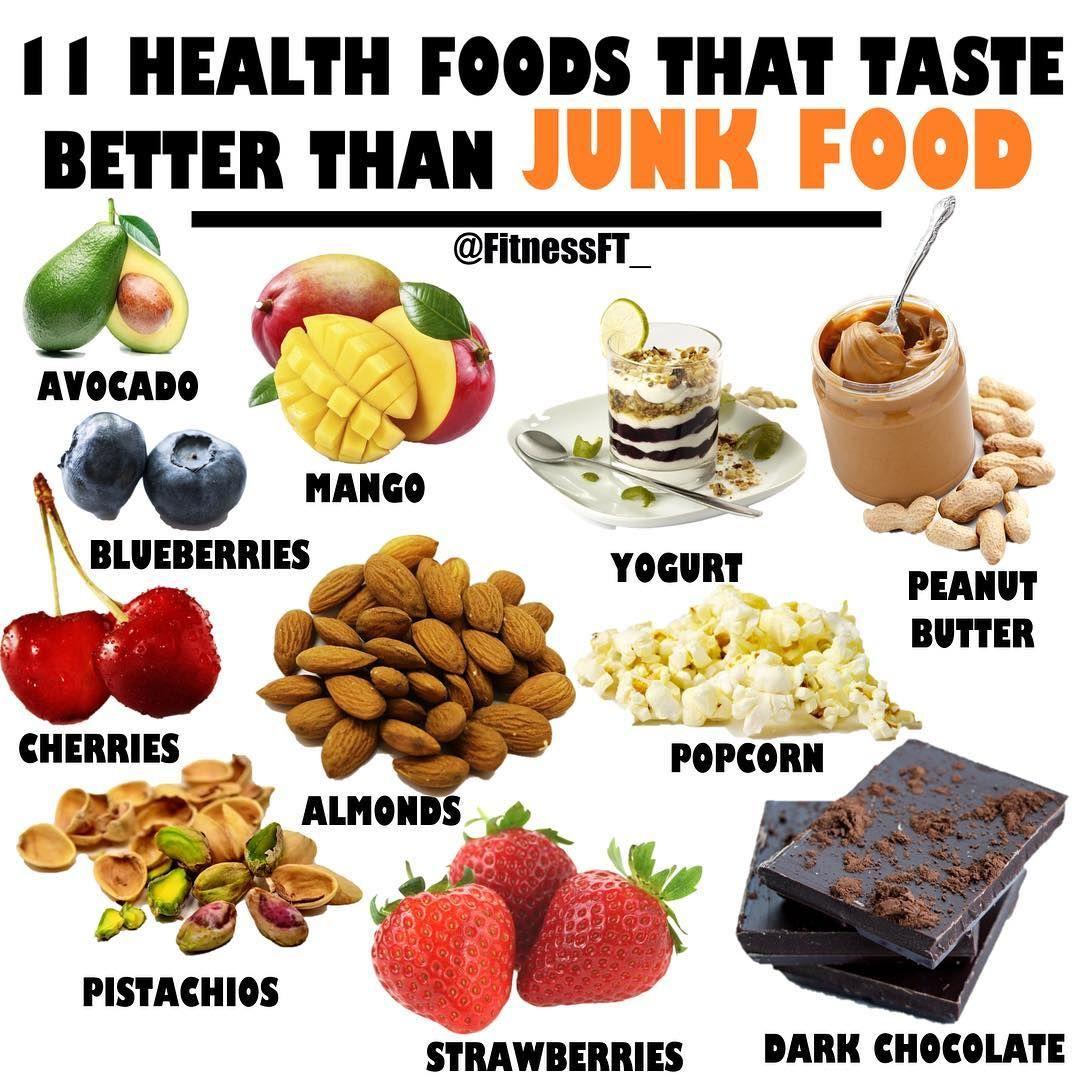Healthy Foods That Taste Better Than Junk Food