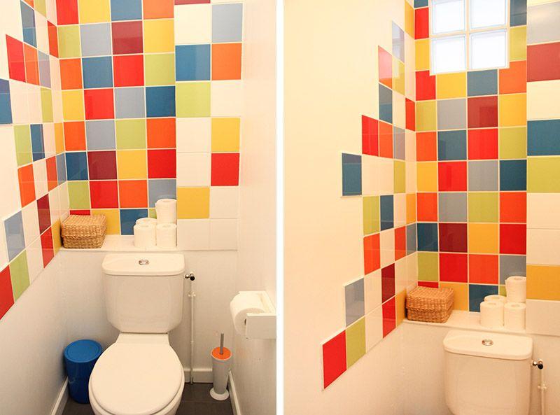 Carrelage mural   en céramique   de salle de bain   motif pour