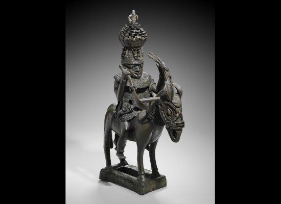 """The pieces were originally looted by British soldiers in the late 1890s, following the Benin massacre of 1897. In a statement made by Usman, the commission stated: """"Without mincing words, these artworks are heirlooms of the great people of the Benin Kingdom and Nigeria generally. They form part of the history of the people. The gap created by this senseless exploitation is causing our people, untold anguish, discomfort and disillusionment."""""""