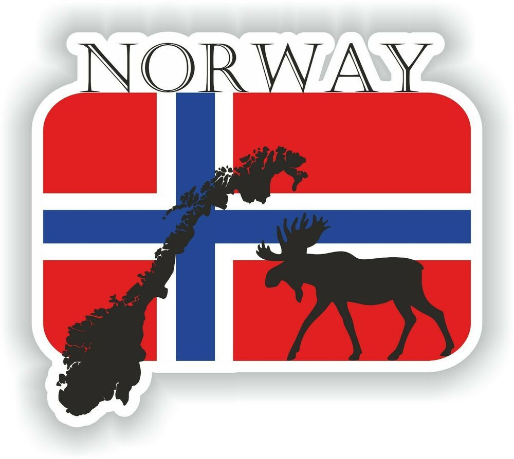 Sticker of Oslo Norway for Bumper Car Laptop Tablet Suitcase Hollidays