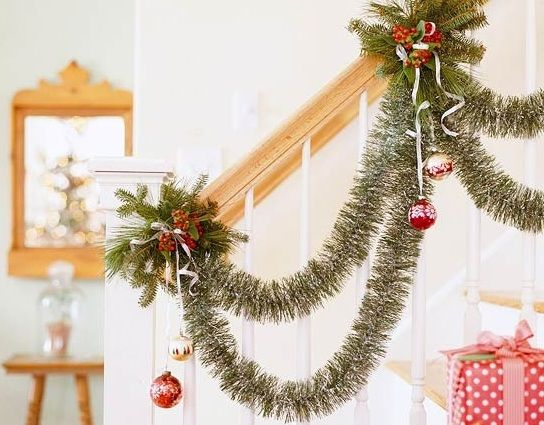 50 csodaszép karácsonyi dekoráció lépcsőre