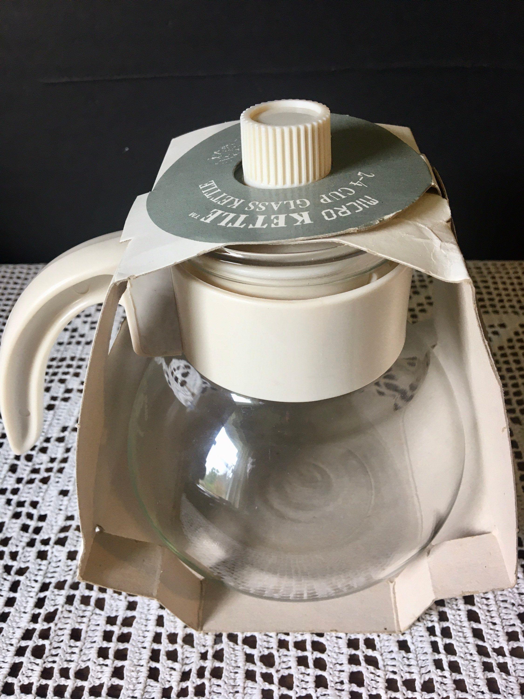 nos gemco vintage micro kettle carafe