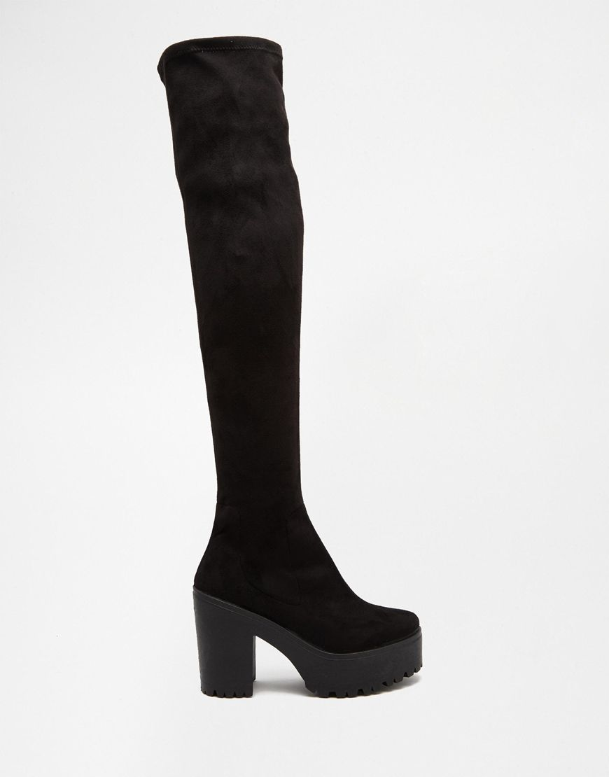 Image 2 of Miss KG Viola 90's Platform Over The Knee Boots