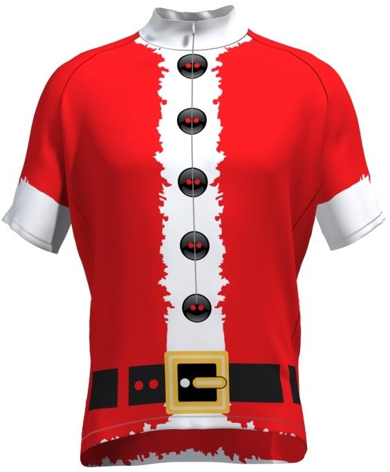 Red Santa Suit Cycling Jersey - Even more Christmas Cycling Ideas at  cyclegarb.com 1827ddb20