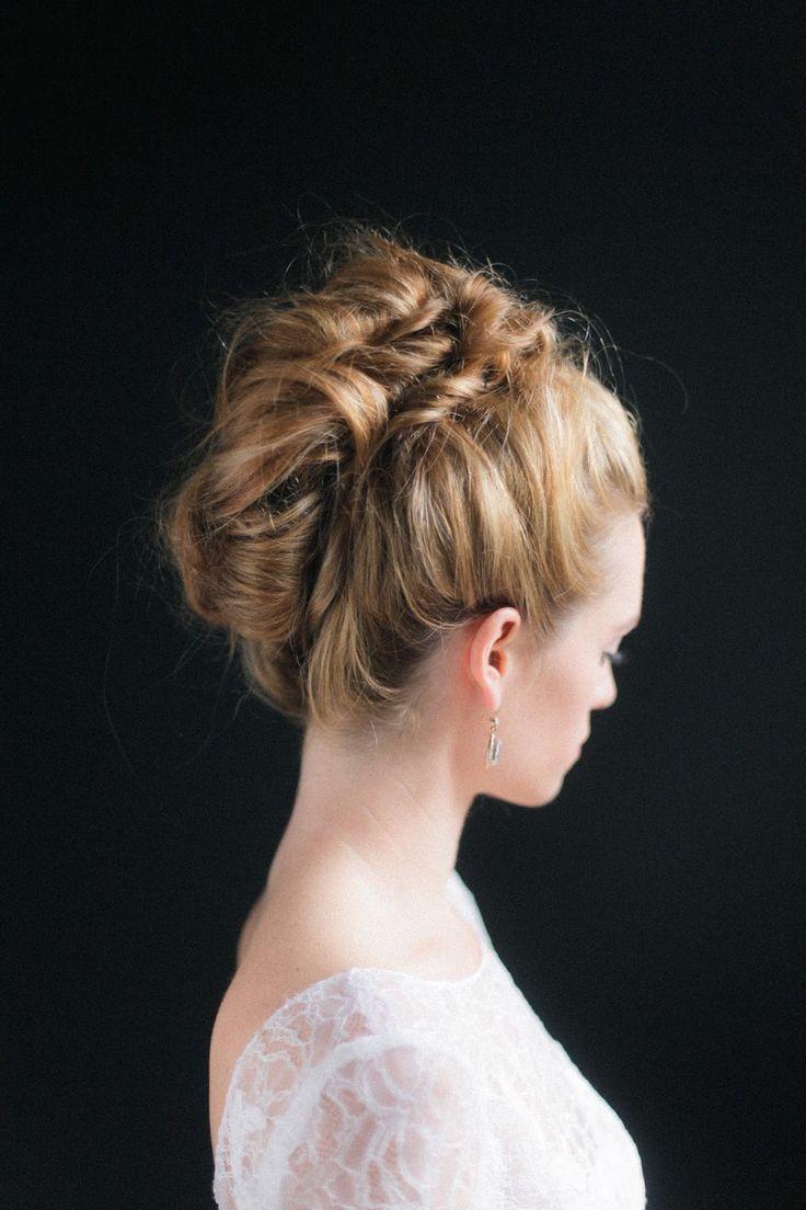 A modern twist on the french twist wedding hairstyles updo