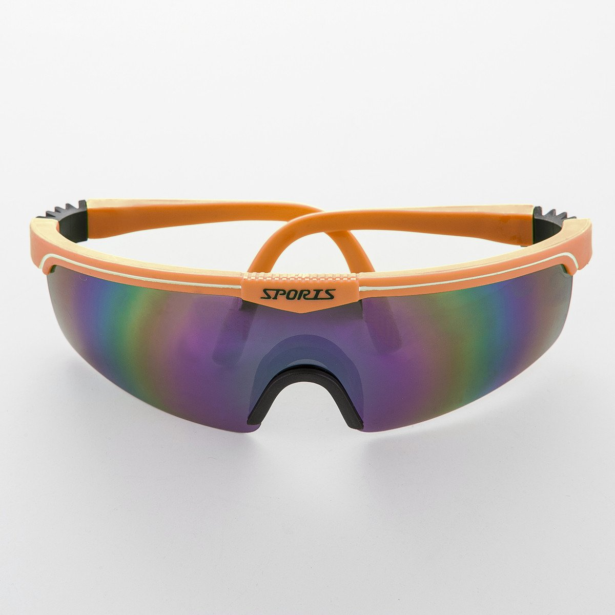 7224b7438766d 90s Sports Reflective Mirror Shield Lens Vintage Sunglass - Cosmo ...