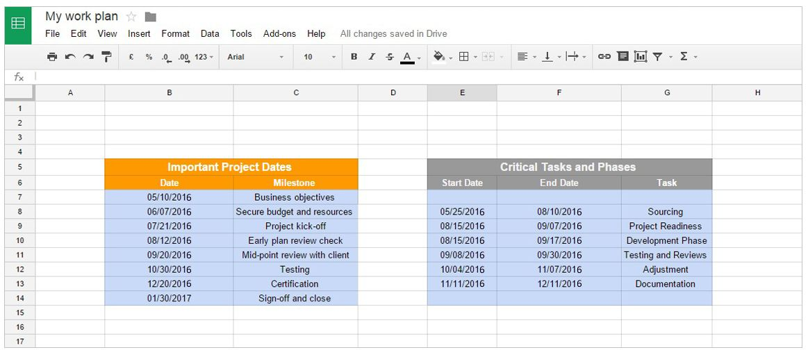 Office Timeline Gantt Charts In Google Docs This Gantt Chart