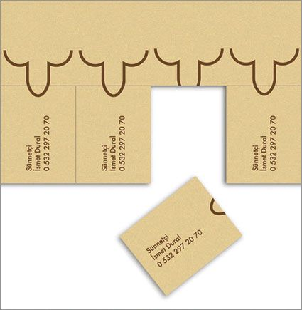 Circumcision Provider Snips Through Clutter Adweek Circumcision Cards Place Card Holders