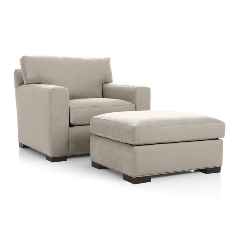 Axis Ii Ottoman Crate And Barrel Oversized Chair