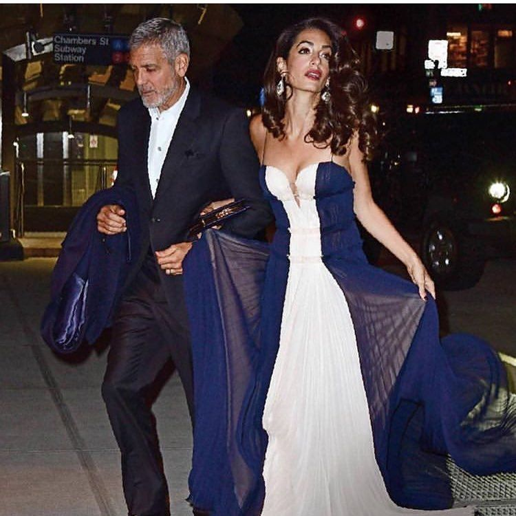 "5585046cbba George And Amal Clooney on Instagram  "" aboutclooneys  amalclooney   georgeclooney  love  life  couplegoals"""
