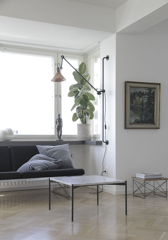 Minna Jones finnisches Wohnzimmer einrichten skandinavisch