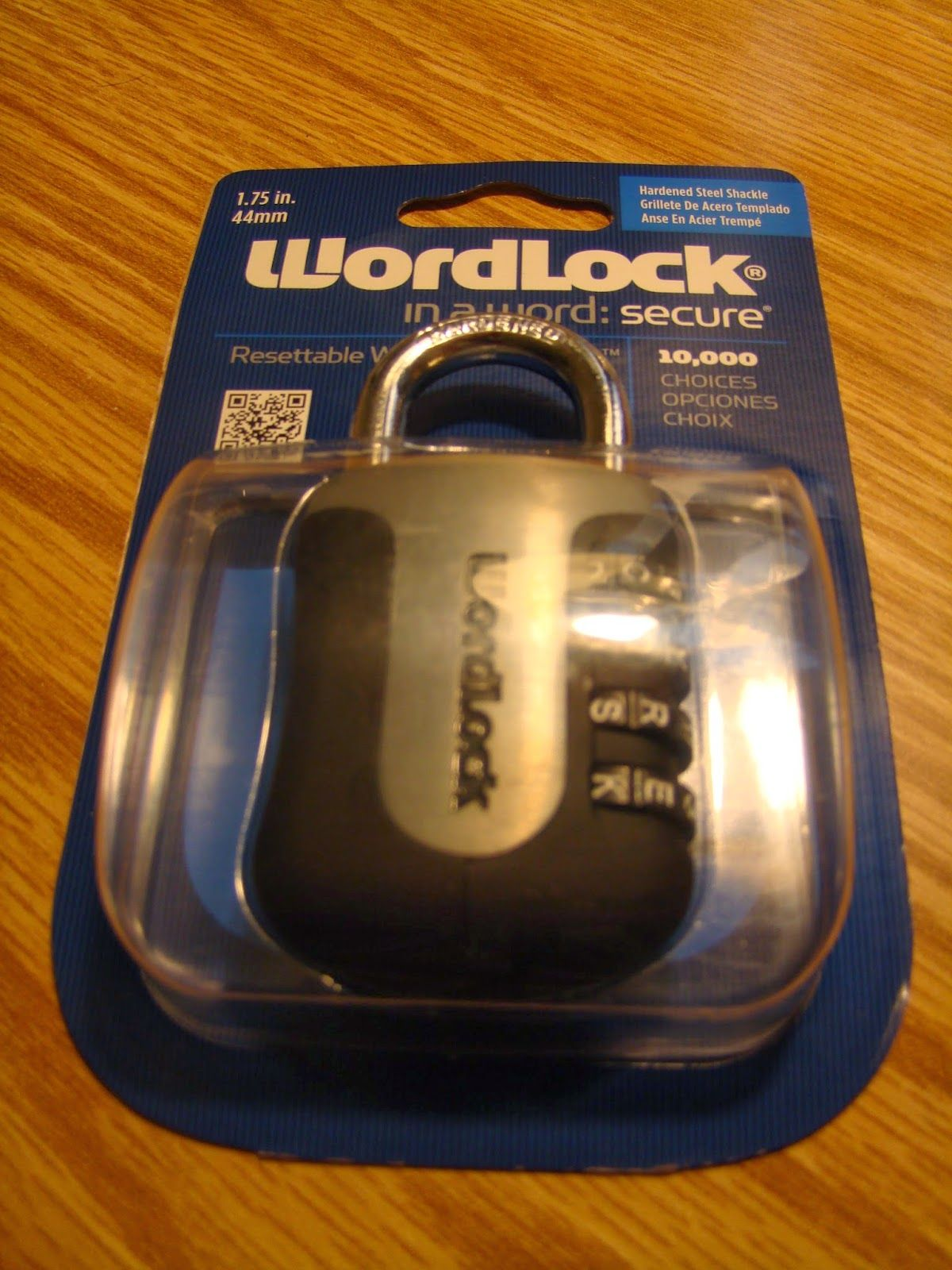 Win a FREE WordLock. Low entries so your chances are high!