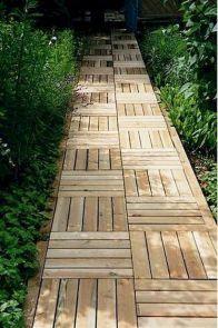 65 Affordable Backyard Garden Path Walkway Ideas On A Budget
