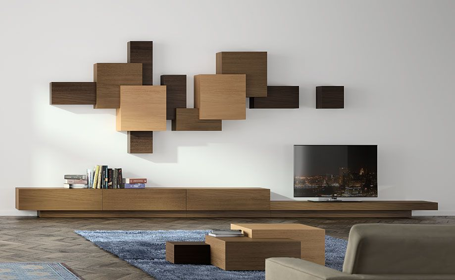 Portobellostreet es salon moderno cubista interior for Moderno furniture