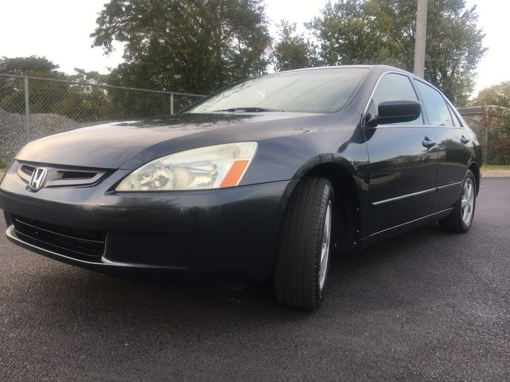 2004 Honda Accord EX 2004 HONDA ACCORD EX SEDAN LEATHER