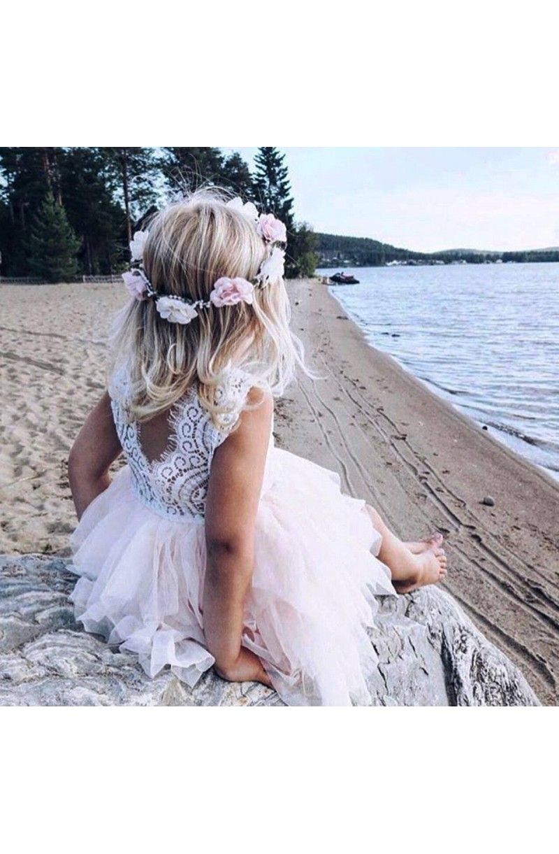 Robe Chloé   Mariage plage en 2019   Robe fillette mariage