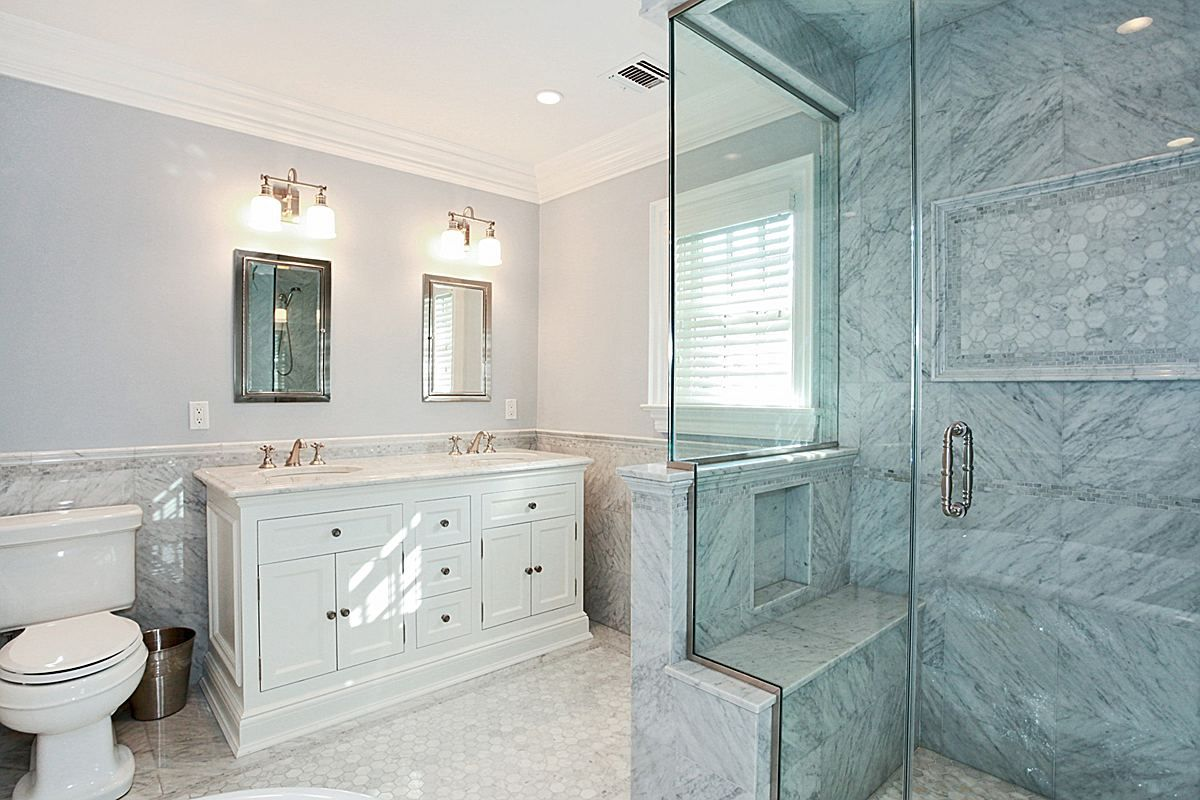 Classic Marble Elegance Bathrooms Timeless Bathroom