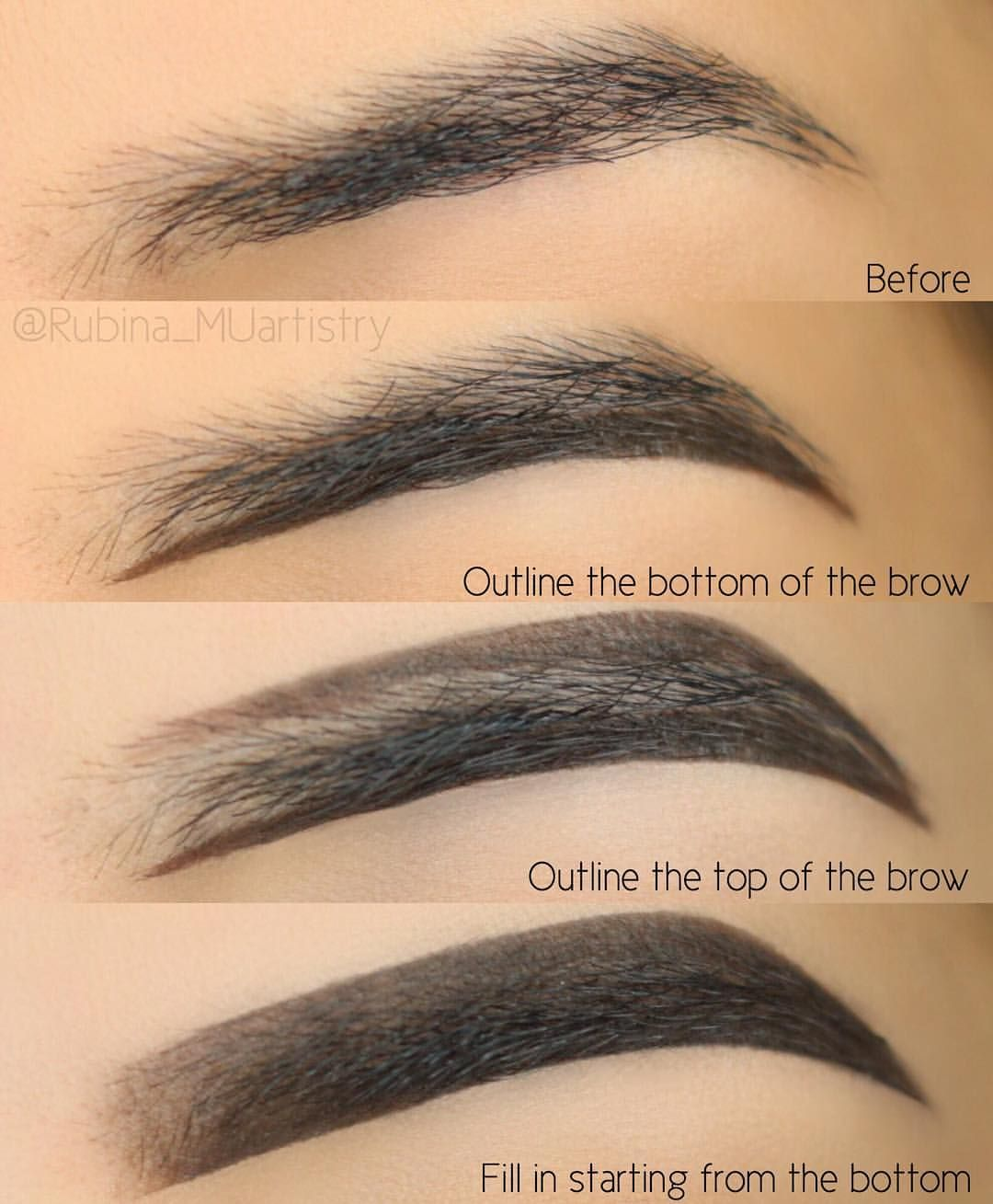 Pin By M On Beauty In 2018 Pinterest Makeup Eyebrows And Brows