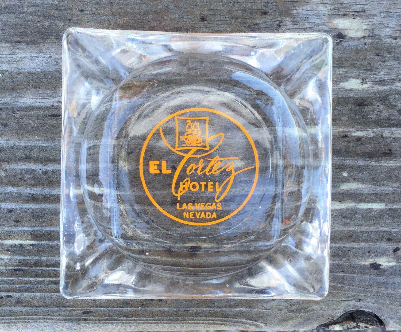 A personal favorite from my Etsy shop https://www.etsy.com/listing/257341993/el-cortez-hotel-glass-ashtray-trinket