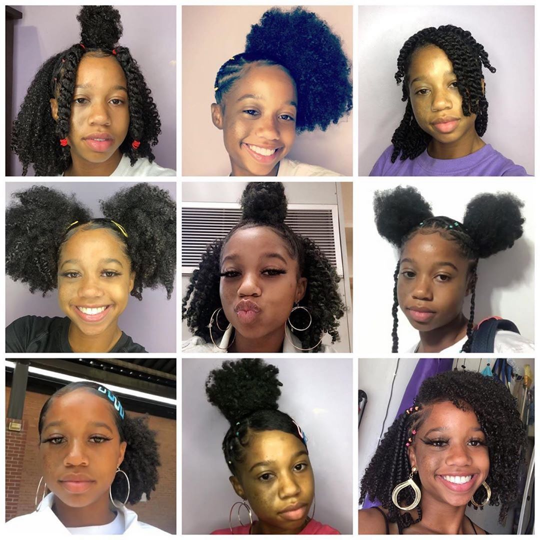Dollar Curl Club On Instagram Same Beauty 9 Different Styles Which Is Your Fav Natural Hair Styles For Black Women Natural Hair Styles 4c Natural Hair