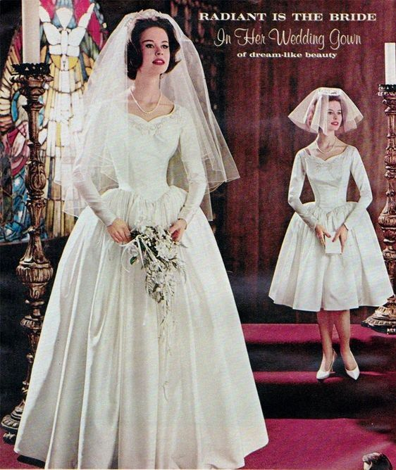 Vintage Wedding Dresses 1960s: Pin By Nina-Cathrine Nergaard On 1960s Wedding