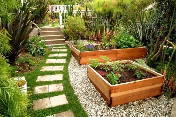 Tuinverbouwing Los Angeles : Backyard garden in los angeles my style