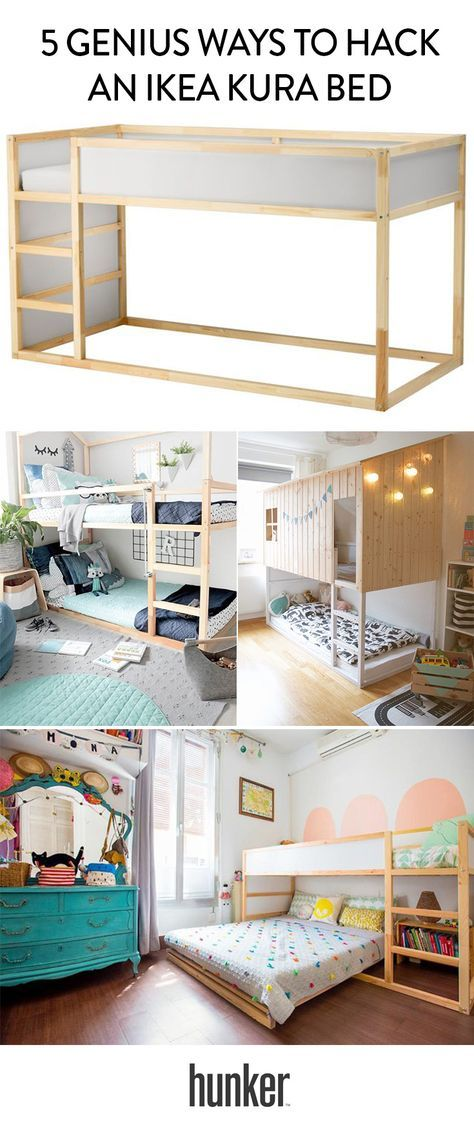 5 Genius Ways To Hack An Ikea Kura Bed Casa Viana Habitación