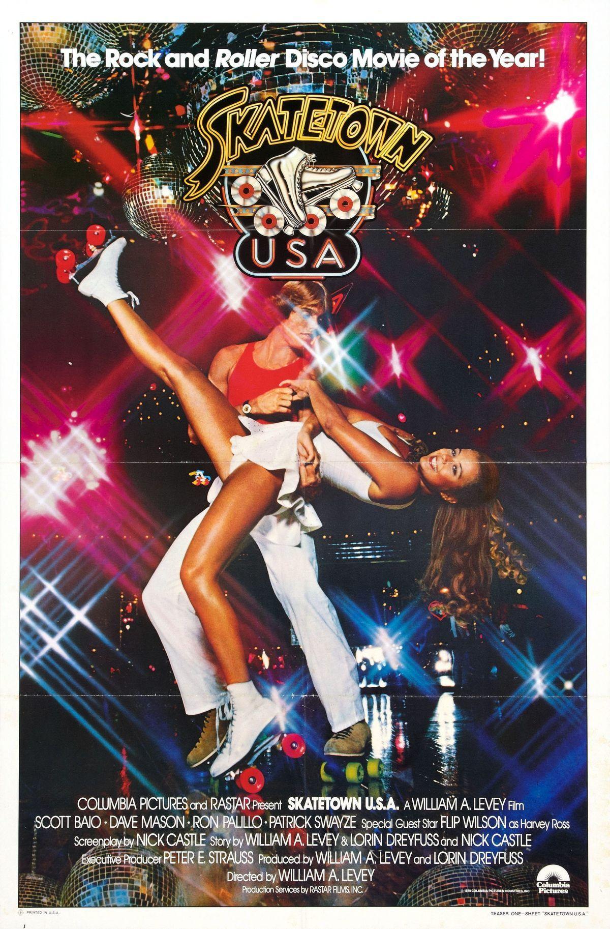 Everybody's Into Weirdness Skatetown USA (1979) Roller