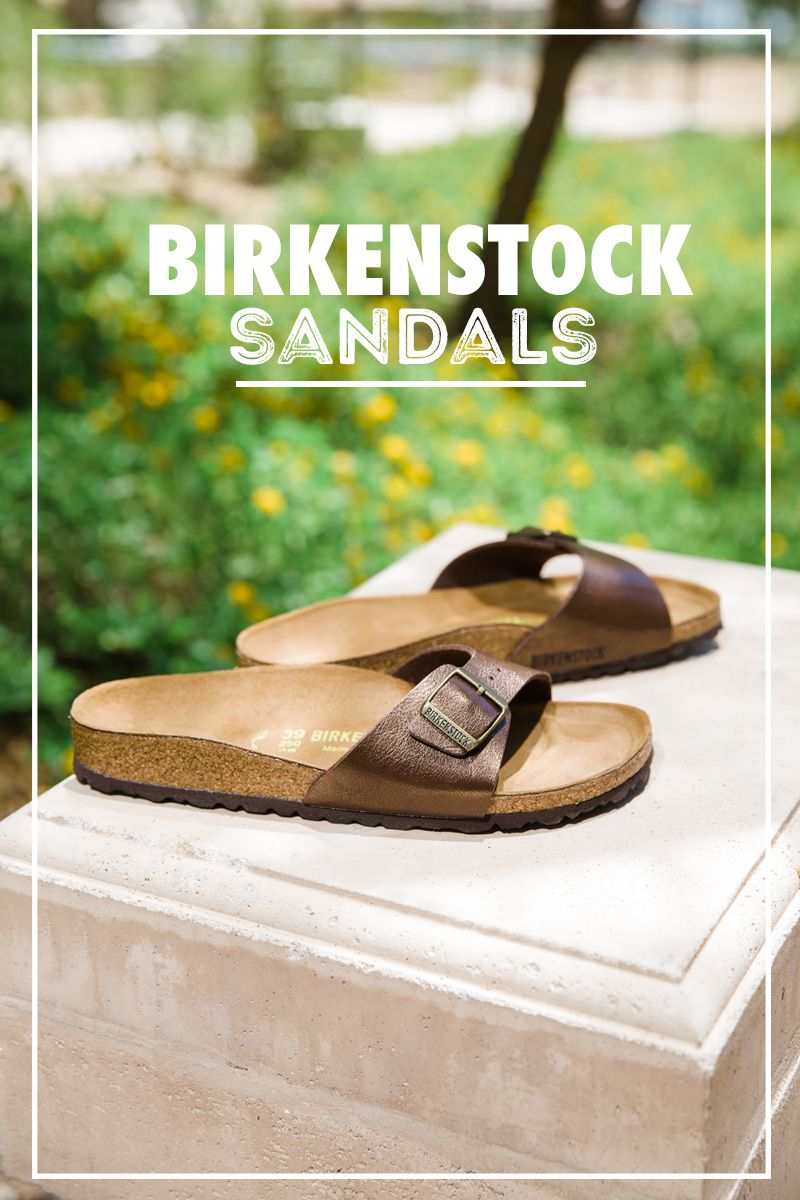 We love this chic upgrade to the Birkenstock sandal. The Madrid slide from Birkenstock adds pop and style to any casual outfit. Check out all of our colors and styles to find the perfect sandal for any outfit.