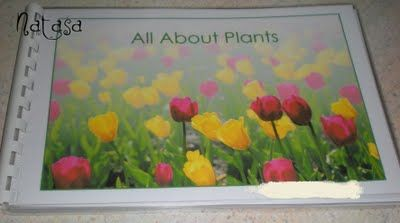 All About Plants is a handy booklet which can be downloaded for free at Montessori for Everyone