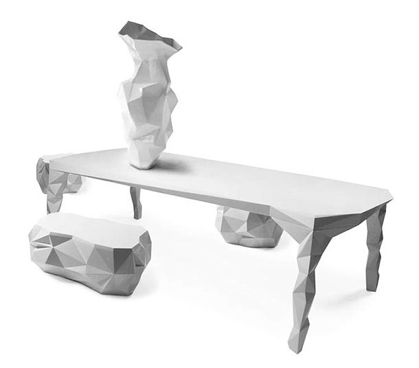 edgy furniture. another edgy design collection, arctic rock furniture. furniture w