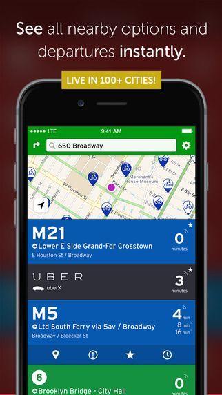 Transit App Real Time Tracker Directions For Bus Subway And Metro Including Offline Schedules On The App Store Time Tracker App Subway