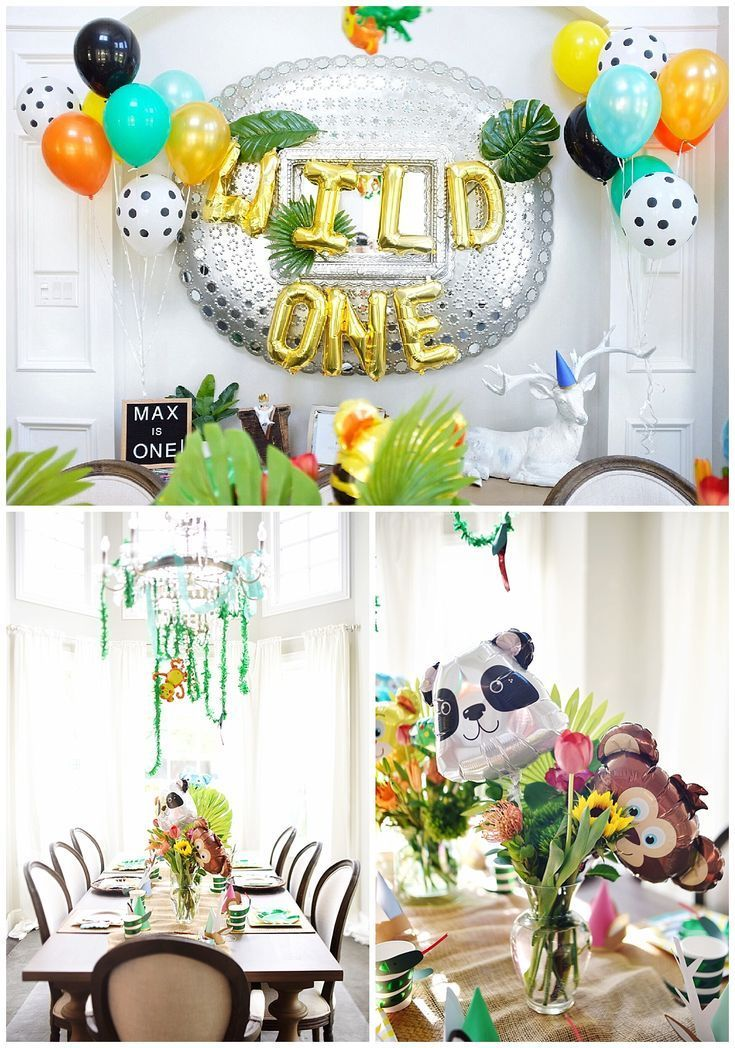 Wild One First Birthday and Tips for A Low Key 1st Birthday Party #babyboy1stbirthdayparty
