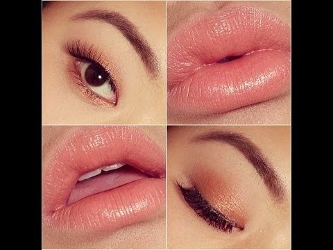 spring makeup tutorial  copper eyes see special