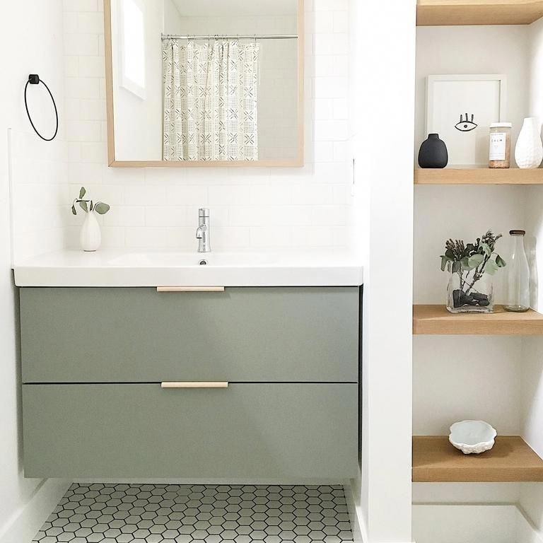 2 Drawers 31 1 2 For Godmorgon In 2020 Bathroom Styling Bathroom Trends Small Bathroom