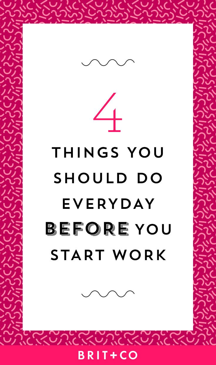 Get your day off to an energetic start with these productivity tips.