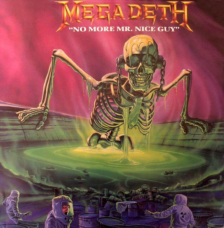 Megadeth Album Covers Megadeth - No More Mr....